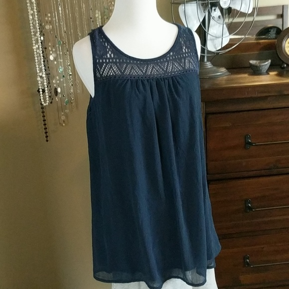 eb245fb64dbaf Liz Lange for Target Tops | Liz Lange Maternity Navy Blue Tank Xs ...